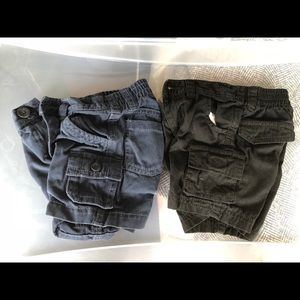 Set of 2 cargo shorts